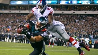 Zach Ertz lays out for a touchdown versus the Giants! (Week 6, 2014)