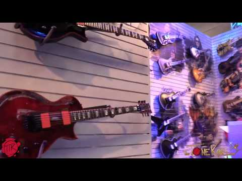 ESP Guitars Full Walk-Thru Behind the Scenes WINTER NAMM 2015 '15
