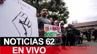 Amenazas racistas contra universidad de La Verne – Noticias 62 - Thumbnail