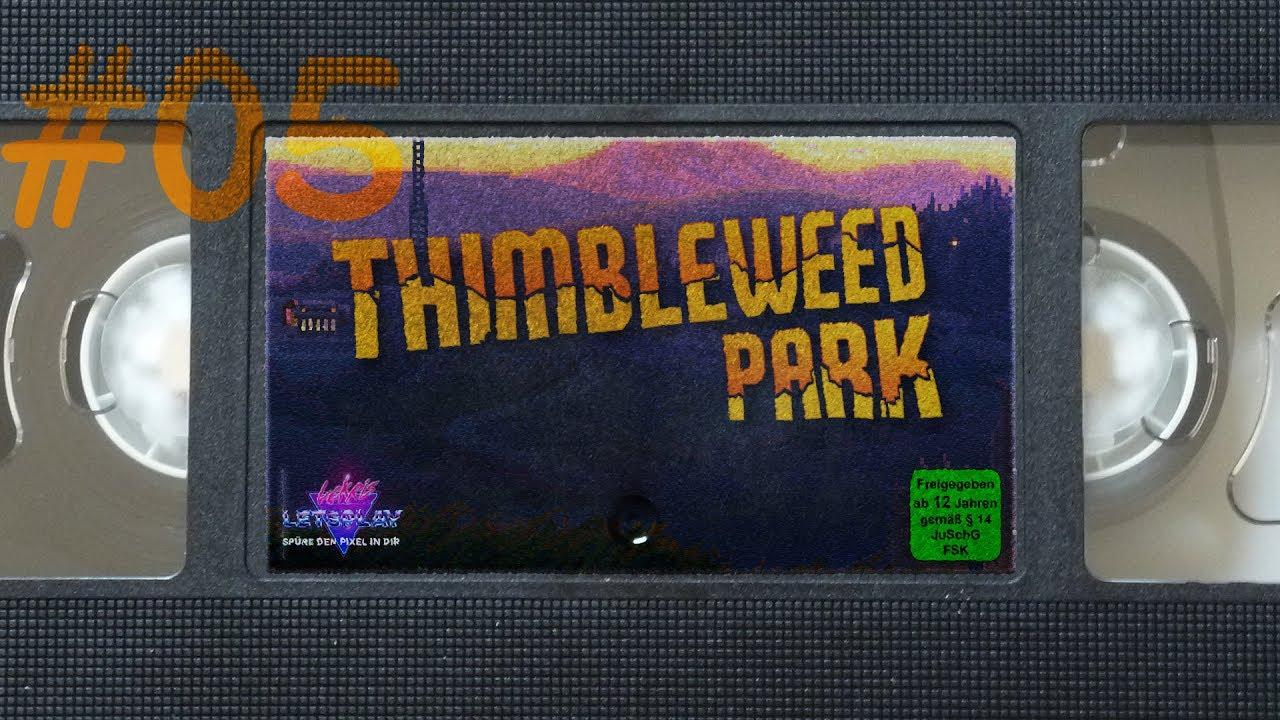 #05 - Zu Besuch im verfluchten Bücherladen | Let's Play Thimbleweed Park [german][blind][pc]
