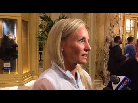2018 Boston Marathon: Shalane Flanagan talks the bathroom break and Des Linden's win