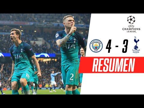 Manchester City - Tottenham [4-3]   GOLES   Cuartos de final (VUELTA)   UEFA Champions League