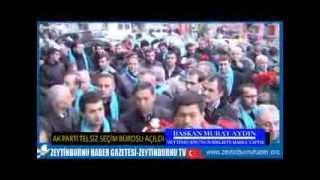 AK Parti Telsiz Seçim Bürosu Açılış