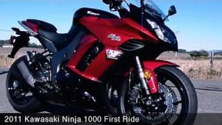 1. MotoUSA 2011 Kawasaki Ninja 1000 First Ride Video
