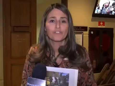 Diputada Nogueira anuncia votación del proyecto anti encapuchados en Comisión de Seguridad