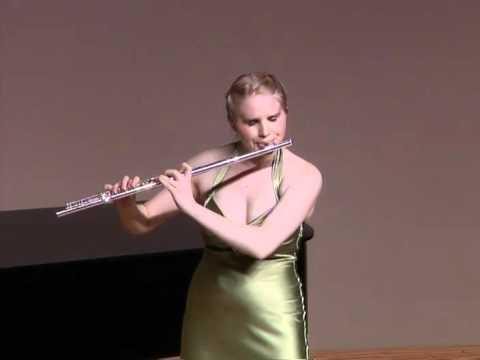 Mouquet-La Flute De Pan, 3rd mvt--Erin Erdos (видео)