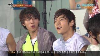 """Video SBS [맨발의친구들] - 인피니트, """"남자가 다이빙할 때~!!"""" MP3, 3GP, MP4, WEBM, AVI, FLV Agustus 2018"""