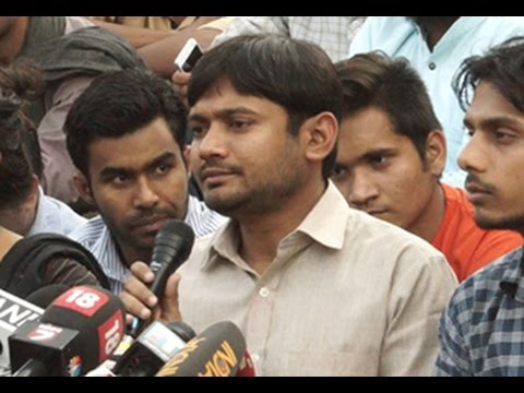 Kanhaiya Kumar addresses media; diverts all attention from budget session