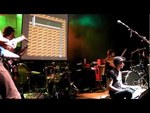 Megaman Playthrough With Live Band Playing