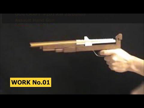 25 rounds Rubber Band Assault Hand Gun/ oggcraft.jp