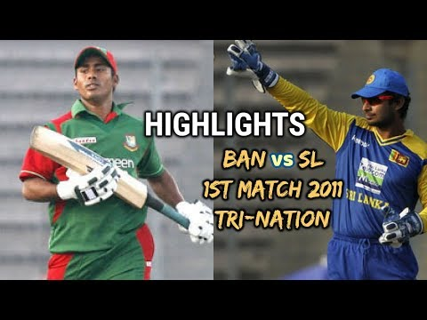 Mohammad ASHRAFUL Shows His CLASS | BANGLADESH vs SRI LANKA 1st Match Tri-Nation 2010 HIGHLIGHTS