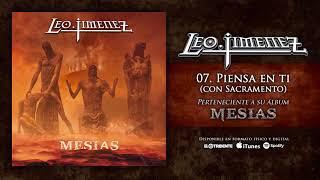 "LEO JIMÉNEZ ""Piensa En Ti"" feat. Sacramento (Audiosingle)"