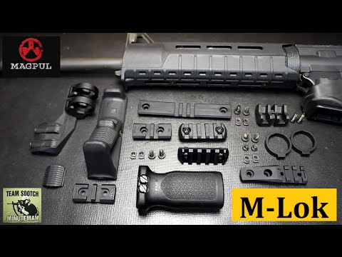 Magpul - Fun Gun Reviews Presents:Magpul's New M-lok Accessories have been released. Plus M-Lok comparison to the Key Mod System. Magpul Website: http://magpul.com/ M...