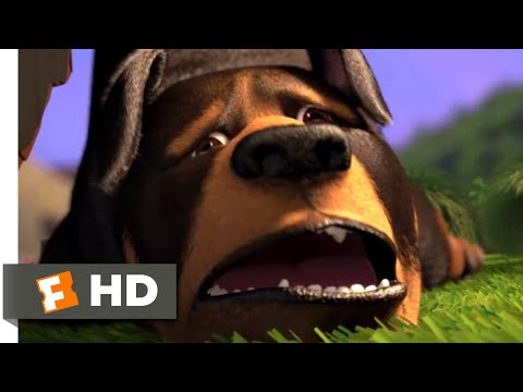 Over the Hedge (2006) - Doggie Disaster Scene (5/10) | Movieclips
