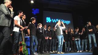 A comedian sums up the WikiStage premiere