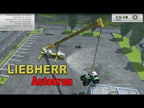 Autokran Liebherr inkl. Hebegestell 1.0