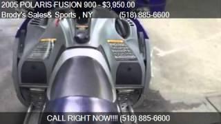 10. 2005 POLARIS FUSION 900 SNOWMOBILE for sale in Ballston Spa,