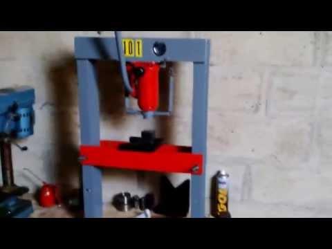 comment construire une presse hydraulique