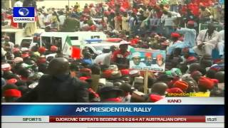 APC Moves Presidential Campaign Train To Kano Pt.2