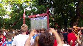 Szekesfehervar Hungary  City pictures : Hungary - Portugal 3:3 @ Székesfehérvár, Zichy Liget CELEBRATING!!!!!