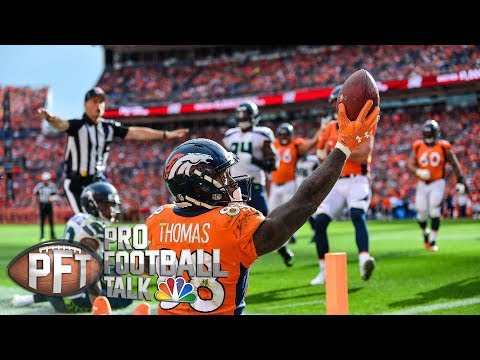 Video: Texans acquire Broncos WR Demaryius Thomas for playoff run I Pro Football Talk I NBC Sports