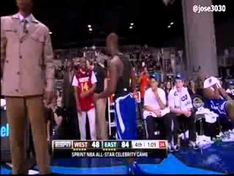 Kevin Hart getting ejected from 2012 All-star Game