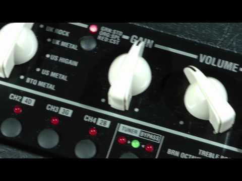 Valvetronics+ Modeling Guitar Amps