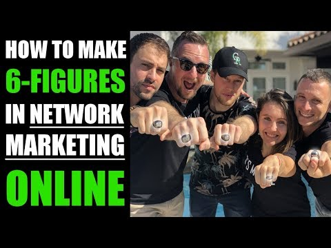 HOW TO MAKE 6 FIGURES IN YOUR NETWORK MARKETING BUSINESS ONLINE