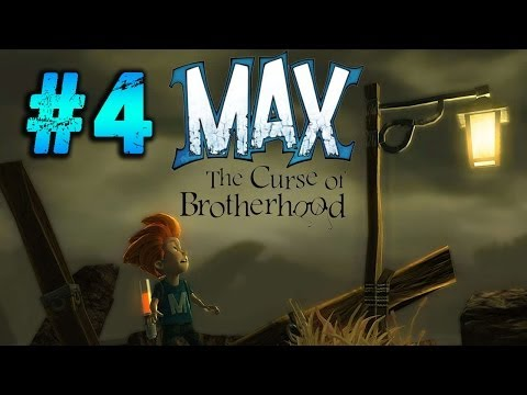 Max: The Curse of Brotherhood Gameplay Walkthrough Part 4 - Chapter 1 - 5 The Crossing (Xbox One)
