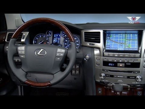 LX - http://www.youcar.tv The spacious, eight-passenger cabin of the LX 570 receives a number of upgrades and changes. The driver's seat gets a new Easy Access sy...
