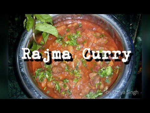 Rajma Curry (by Shriya Singh)