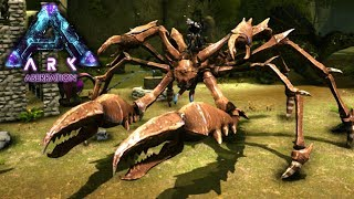 KARKINOS TAME | ARK: Aberration | Let's Play ARK Aberration Gameplay | S01E16 • Kage848