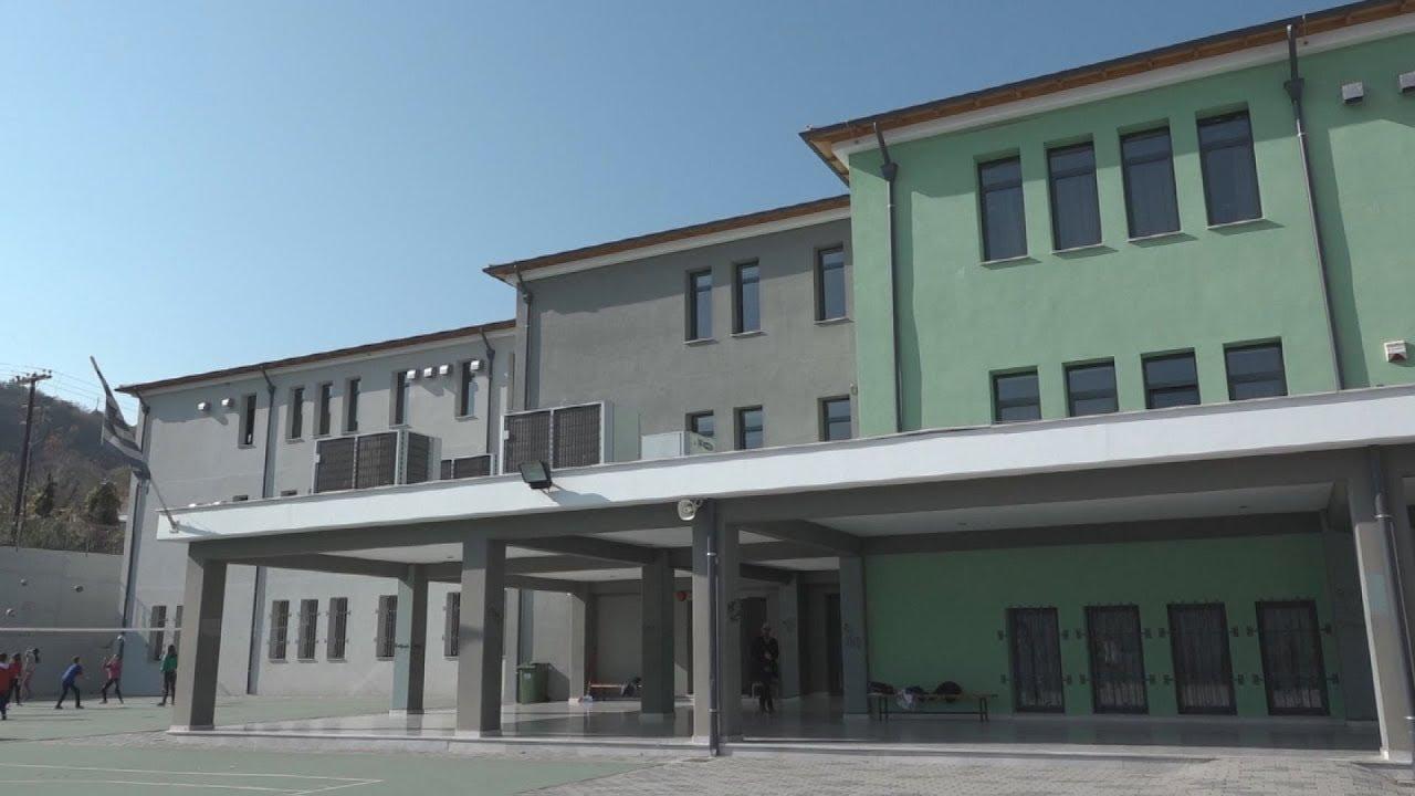 Ξενάγηση στα νέα κτίρια του 1ου γυμνασίου και του 2ου λυκείου Βέροιας