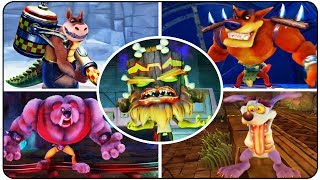 ►Crash Bandicoot N. Sane Trilogy (PS4) - All Boss Battles, All Endings, All Final Bosses Full HD►Playlist : https://goo.gl/cJqHm6►Bosses in order :00:00 - Crash Bandicoot - All Bosses00:00 - Papu Papu00:46 - Ripper Roo02:00 - Koala Kong03:49 - Pinstripe Potoroo04:55 - Dr. Nitrus Brio06:51 - Dr. Neo Cortex & Ending08:55 - Crash Bandicoot 2: Cortex Strikes Back - All Bosses08:55 - Ripper Roo10:33 - Komodo Brothers11:48 - Tiny Tiger13:51 - Dr. N. Gin17:01 - Dr. Neo Cortex & Ending18:53 - Crash Bandicoot 3 : Warped - All Bosses18:53 - Tiny Tiger 20:25 - Dingodile 22:04 - Dr. Nefarious Tropy23:48 - Dr. N. Gin 26:29 - Dr. Neo Cortex and Uka Uka ►Twitter : http://Twitter.com/YTNintenU►Avatar Picture : http://ratchetmario.deviantart.com►Game Informations :Developer : Vicarious VisionsPublisher : ActivisionPlatform : PS4Release dates : June 30th 2017 (WW)  August 3rd 2017 (JP)Genre : 3D PlatformerRating : ESRB: Everyone 10+Mode : Single Player►No Commentary Gameplay by NintenU (2017)◄