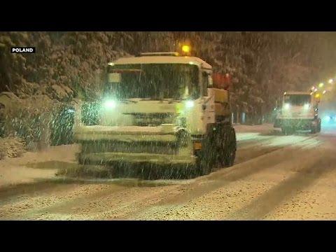 Ο χιονιάς «χτυπάει» την Ευρώπη
