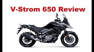 3. The Best Middleweight Adventure Motorycles - Suzuki V-Strom 650 -Test Ride & Review
