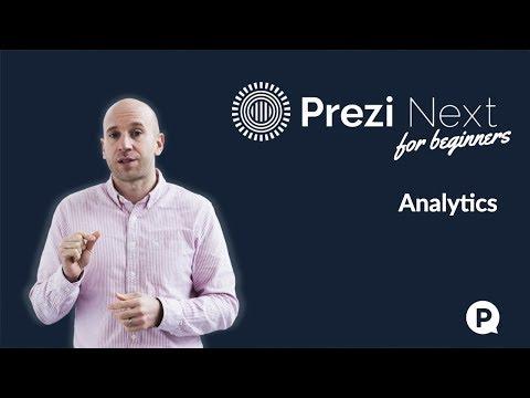 Prezi Next for beginners - Analytics