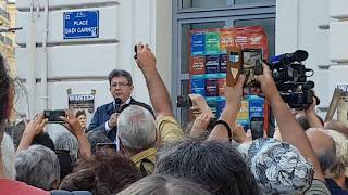 Video Intervention de Jean Luc Mélenchon devant la société générale à Marseille MP3, 3GP, MP4, WEBM, AVI, FLV November 2017