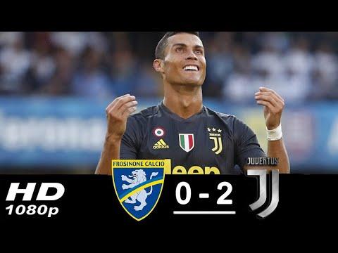 Frosinone vs Juventus 0-2 All Goals & Highlights 23/09/2018 HD | 720p
