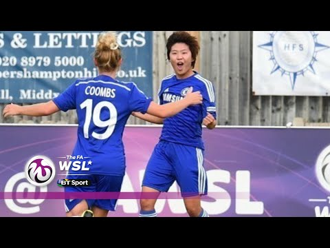 Chelsea - Chelsea Ladies went top of the FA Women's Super League thanks to a confident and largely comfortable victory over previous table toppers Birmingham. Ji So Yun gave the Blues the lead in the...