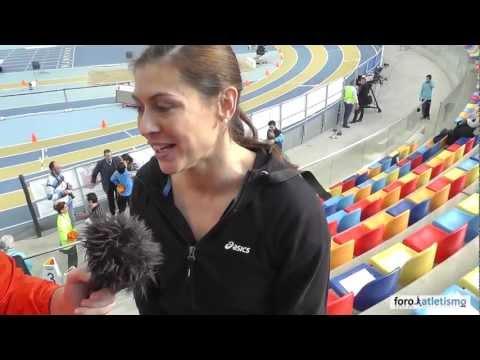Concha Montaner campeona de España de salto de longitud