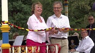 Bandstand Official Opening Event by Mayor of Watford in Hertfordshire
