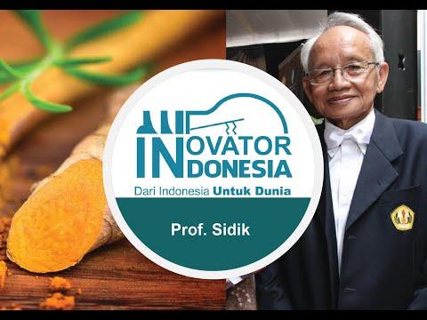 Innovator Indonesia - Temulawak - Prof. Sidik