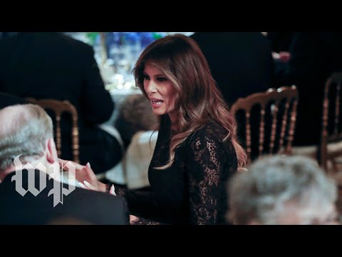 Melania Trump speaks at luncheon for governor's spouses