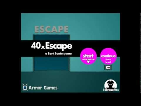 [Bart Bonte] 40x Escape Walkthrough.flv