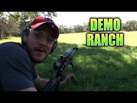 AR-30A1 – .338 Lapua – Ultimate Sniper Caliber – Demolition Ranch