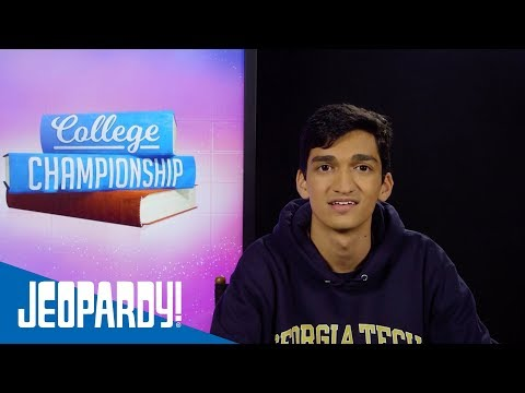 2018 College Championship: Postgame Confessional #3 | JEOPARDY!
