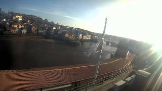 Whitby Fri 29th Jan 2016 24-Hour Time-lapse (Upriver)