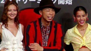 EXILE USA、エリーローズ、佐原モニカ/ドラマ『ゲットダウン』ジャパンプレミア