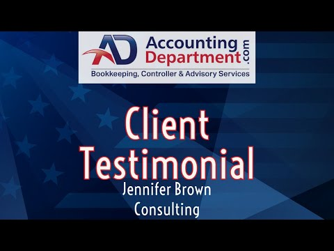Accounting And Bookkeeping Services For Small Business | Video Testimonial